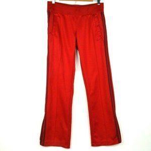 Nike Striker Training Track Pants Red Striped sz M